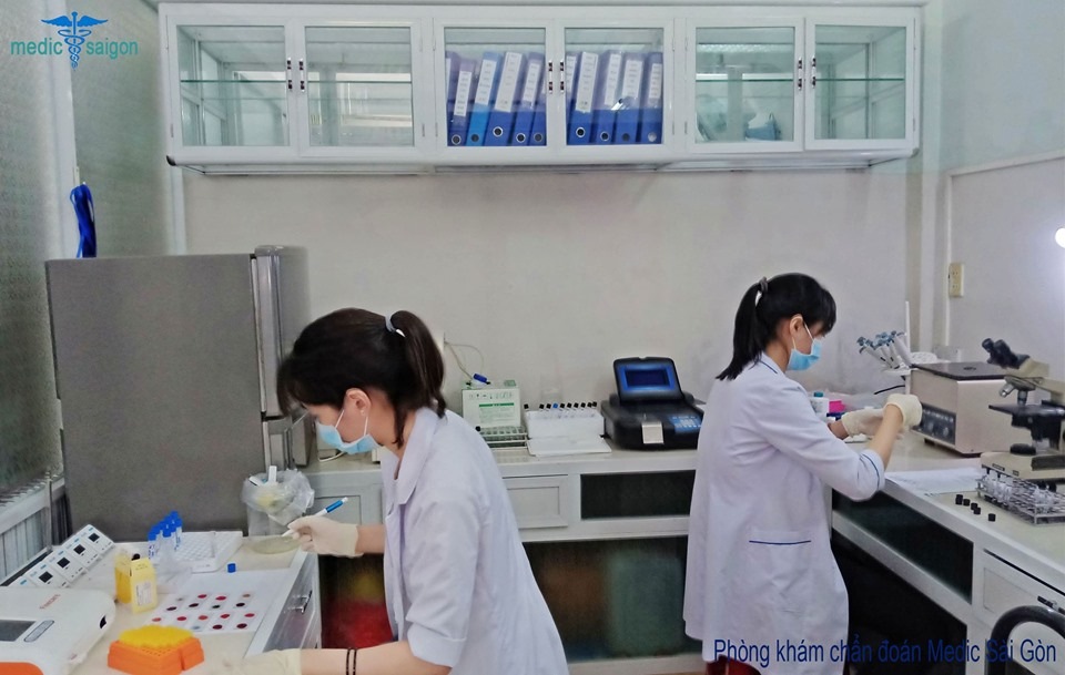 xét nghiệm ký sinh trùng