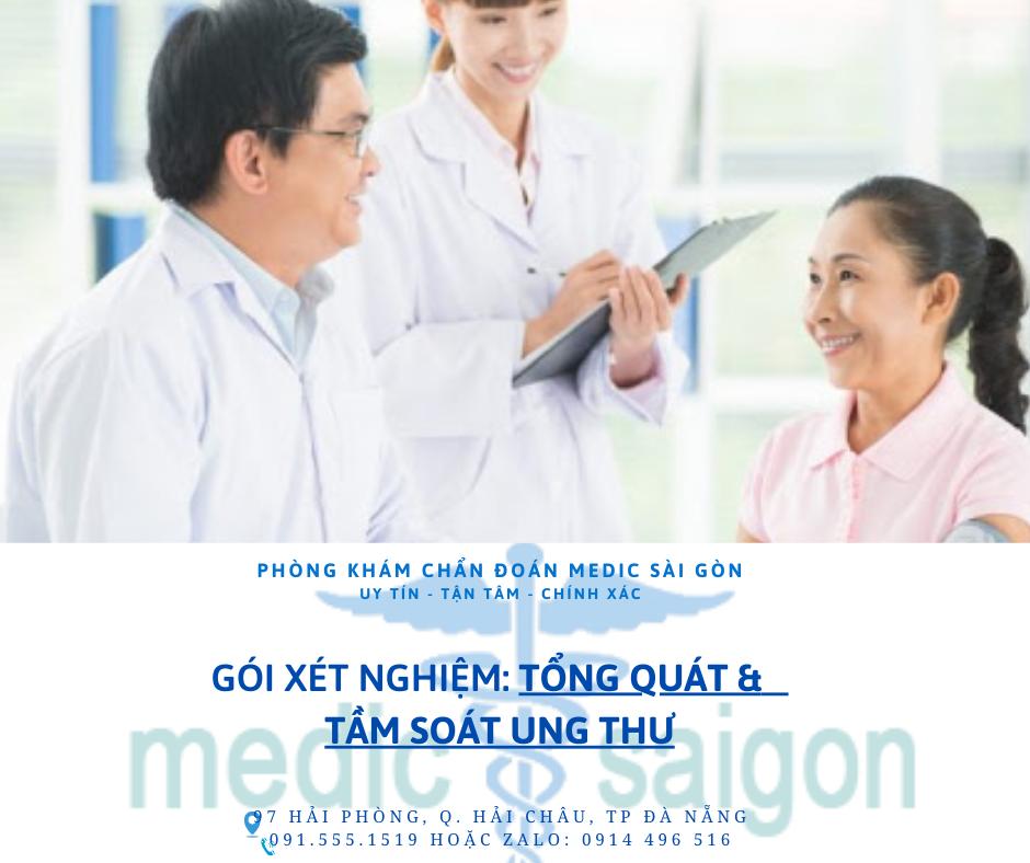 xét nghiệm tổng quát tại Đà Nẵng